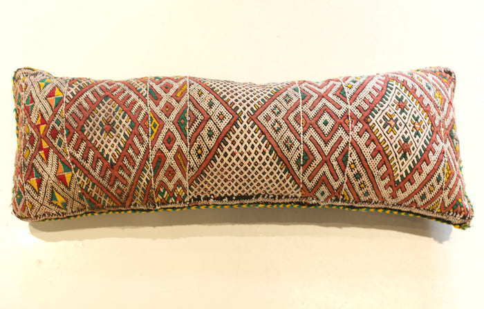 Vintage Moroccan Pillow No. 5046