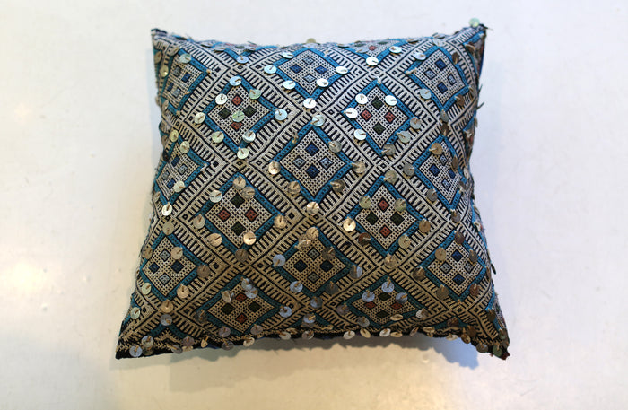 Vintage Moroccan Pillow No. 5049