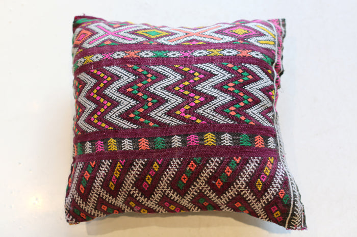 Vintage Moroccan Pillow No. 5056