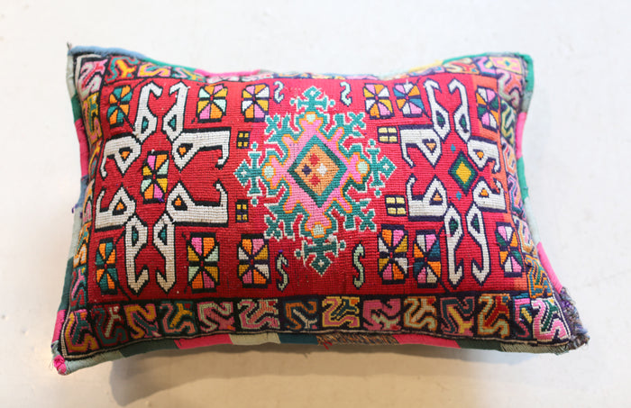Vintage Moroccan Pillow No. 5057