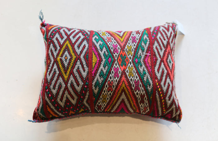 Vintage Moroccan Pillow No. 5061