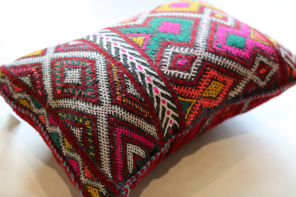 Vintage Moroccan Pillow No. 5064