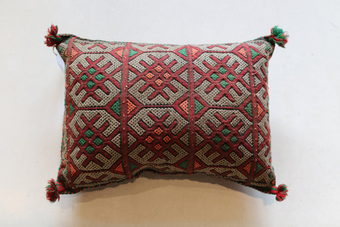Vintage Moroccan Pillow No. 5065
