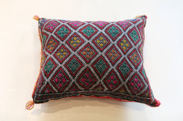 Vintage Moroccan Pillow No. 5067