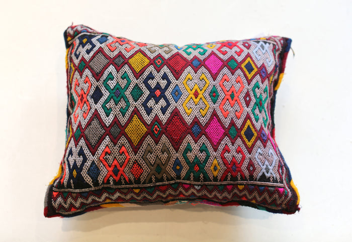 Vintage Moroccan Pillow No. 5070