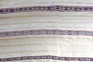 Vintage Handira, Moroccan Wedding Blanket No. 022