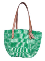 Handwoven Sisal + Wool Bag from Kenya