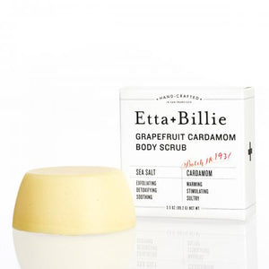 Etta + Billie Body Scrub: Grapefruit Cardamom