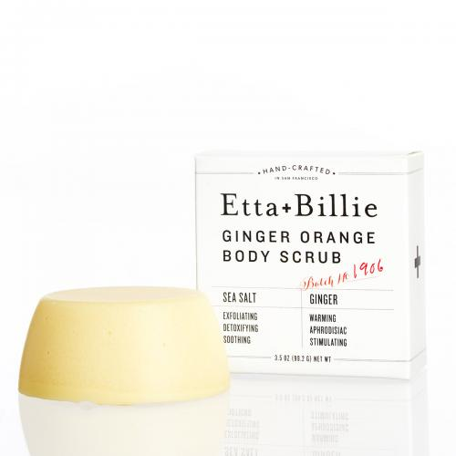 Etta + Billie Body Scrub: Ginger Orange