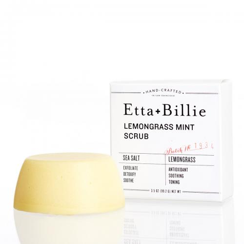 Etta + Billie Body Scrub: Lemongrass Mint