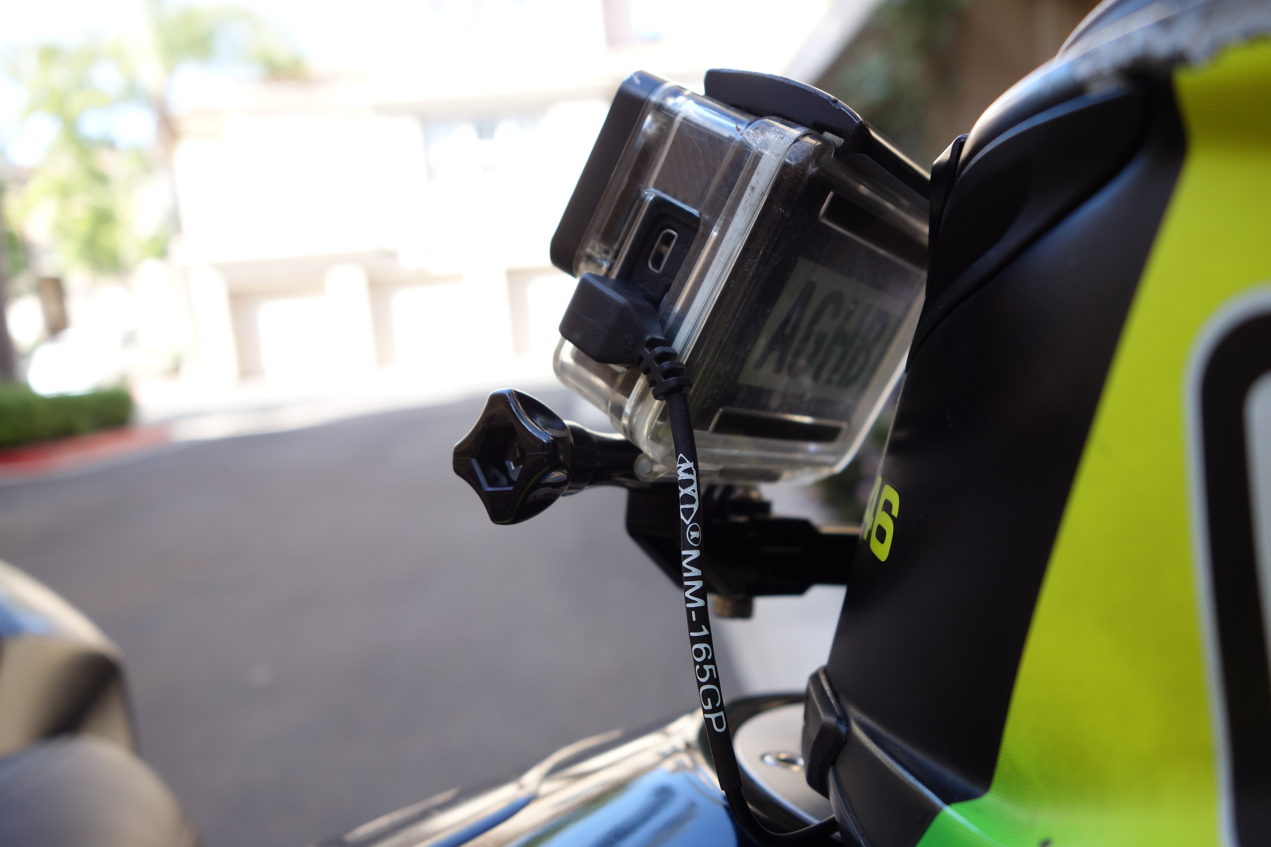AGHB Helmet Mount Kit for Go Pro