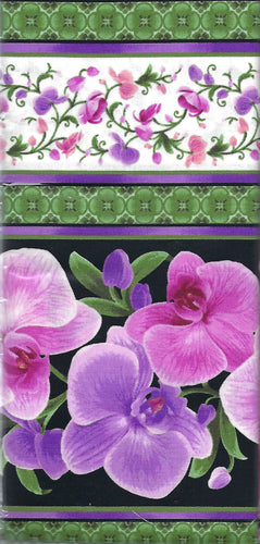 Fabric Kit Hexagon - Orchids
