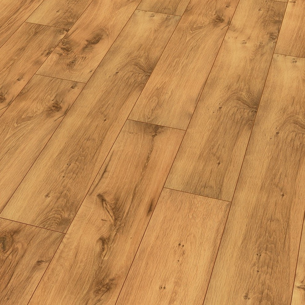 the limited edition v4s summer oak wood laminate floor, 20.66 sq. f