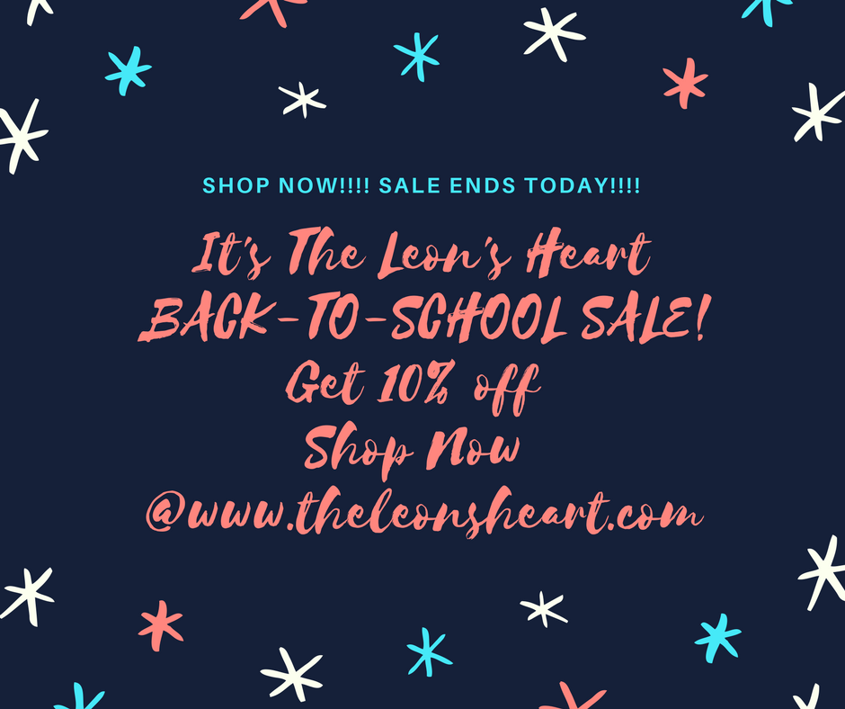 Shop Now!! Sale Ends Today!!!