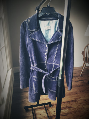 Denim Suede Jacket