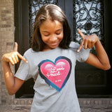 The Leon's Heart Classic Women's TShirt - Stone Grey