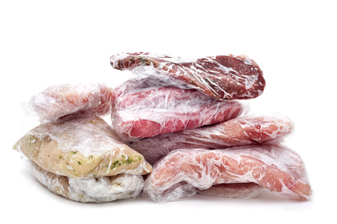 Raw freezer meat