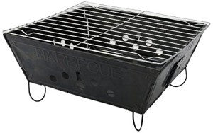 fold-able grill for the outdoors