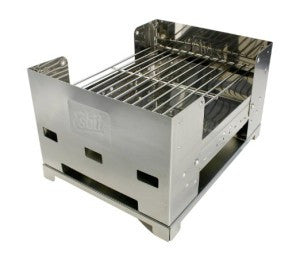 fold-able grill for outdoor use