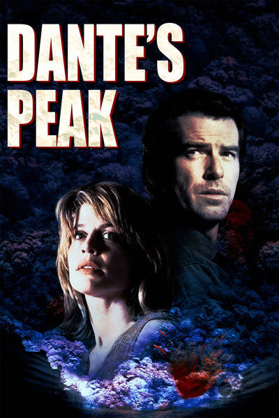 dante's peak movie poster