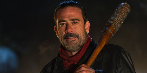 "Negan from ""The walking dead"""