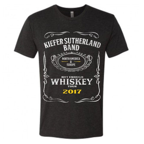 Not Enough Whiskey Tour Tee - Unisex (2017)