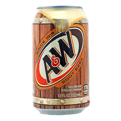 A&W Root Beer 355ml