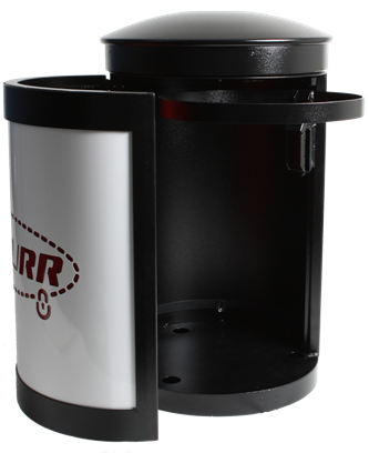 Securr Outdoor Trash Cans and Recycle Bins…Made in the USA