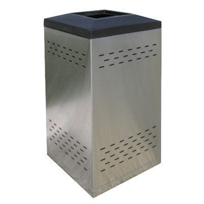Flex Series. Stainless Steel Custom Indoor Trash Can / Recycle Bin ...