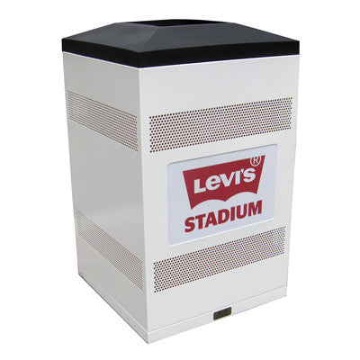 Flex Series. Custom Indoor Trash Can / Recycle Bin. Customized options. 50 gallons - Model FX50-01