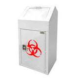 Indoor Sharps Disposal Kiosk, Square, 19 Gallons - MW06-S