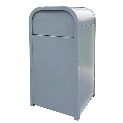 Outdoor Theme Park Style Trash Can, Powder Coated, 36 Gallon - AP-01