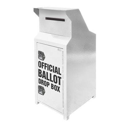 Ballot Drop Box, 40 Gallons, ADA Compliant - CE140-B