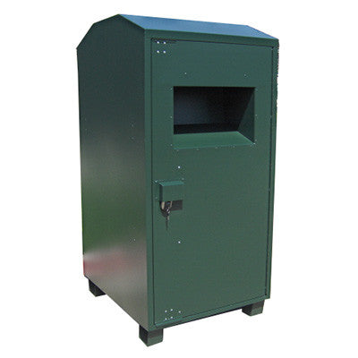 "Textile / Clothing Collection Bin with 22"" x 13.5"" Chute Opening - CB02G16"