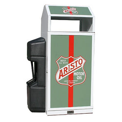 Outdoor Convenience Store Advertising Trash Can, Square, 36 Gallon  - HS36OW-ADVERT