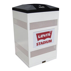 Flex Series. Custom Indoor Trash Can / Recycle Bin. Customized options. 50 gallons - Model FX50