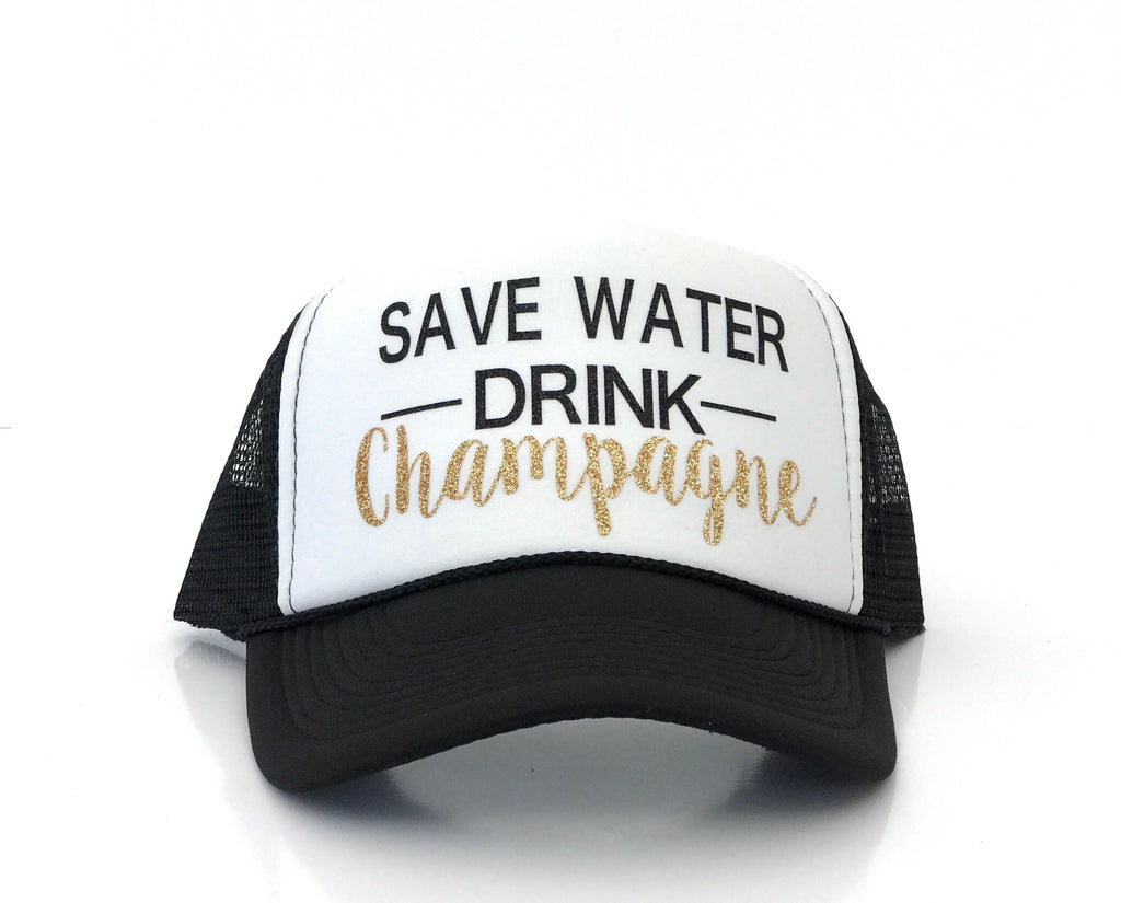 Save water drink champs!