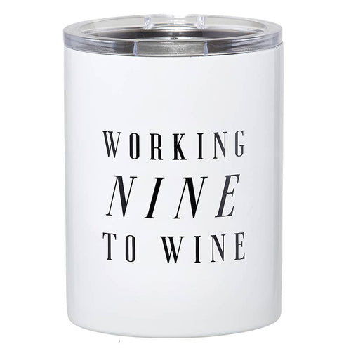 12oz Tumbler - Nine To Wine
