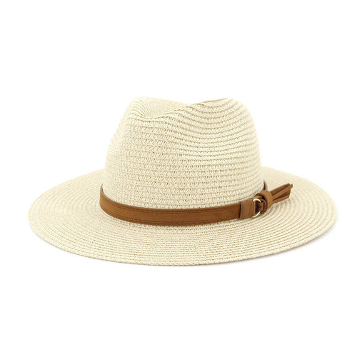 Straw Hat Top Hat Female Outdoor