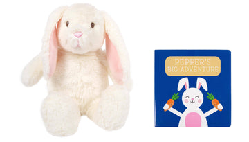 Bunny Toy & Book Gift Set