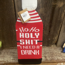 ho ho holy bottle cover