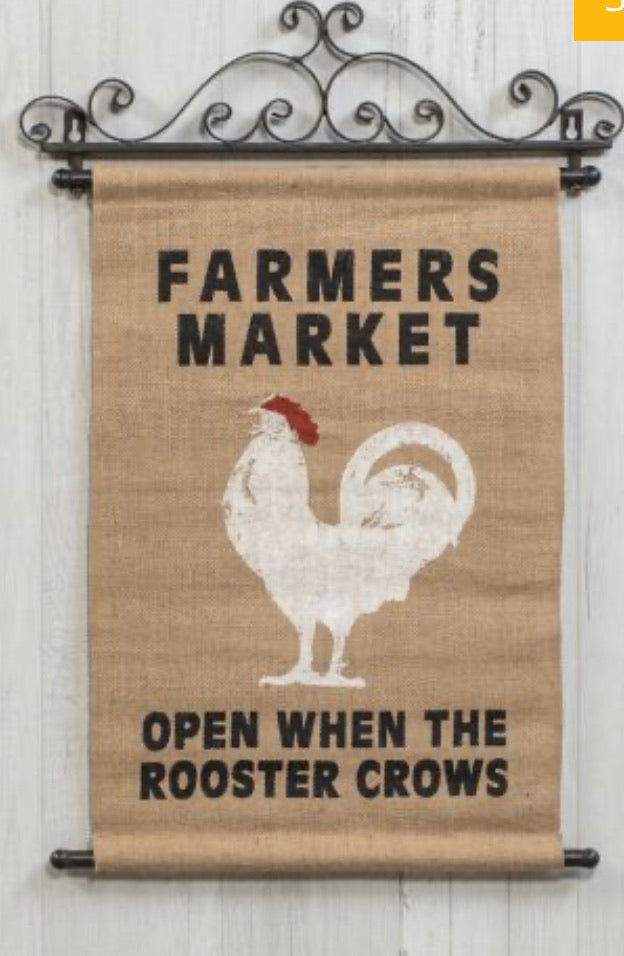 Farmers market scroll
