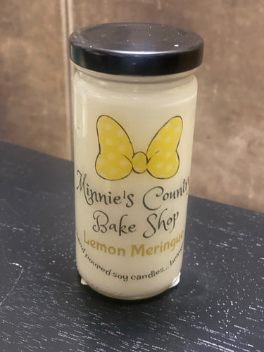 Lemon Meringue Candle