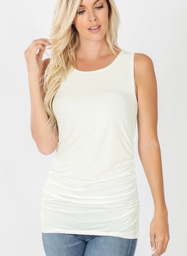 SIDE RUCHED TANK