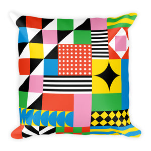 Dazzling Colorful Pillow