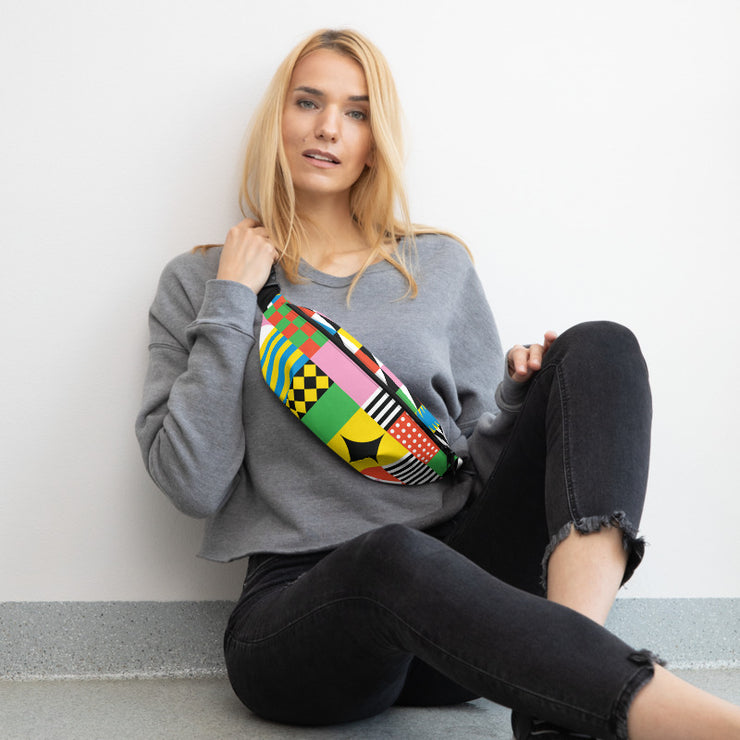 Dazzling Colorful Fanny Pack