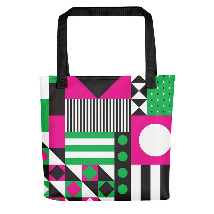 Dazzling Pink&Green Tote