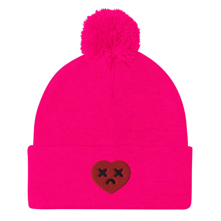 It's Complicated Pom-Pom Beanie