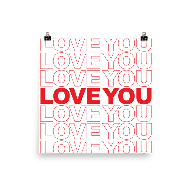 Love You Love You Poster