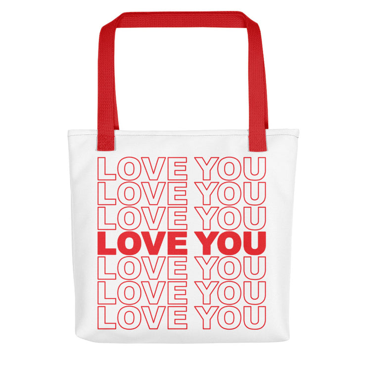 Love You on Repeat Tote